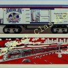 NEW MARX TRAINS AMERICAN BEER REFRIG CAR / MINT