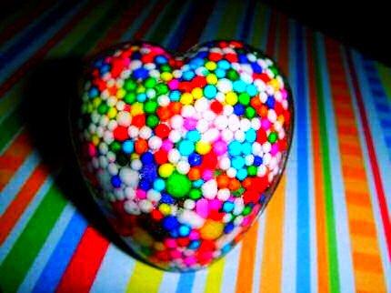 Heart Candy Ring REAL Sweet Betsey Johnson DIY HANDMADE