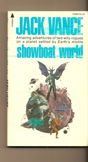 Showboat World By Jack Vance