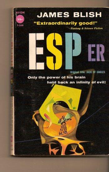 ESPer By James Blish (Jack Of Eagles)