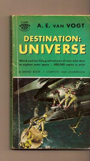 Destination Universe By A.E. Van Vogt