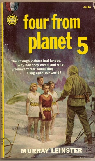 Four From Planet 5 By Murray Leinster