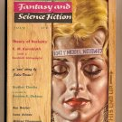 Magazine Of Fantasy And Science Fiction edited by Anthony Boucher