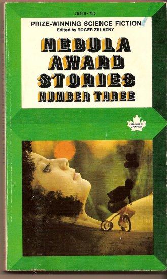 Nebula Award Stories Number Three edited by Roger Zelazny