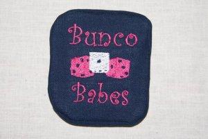 Bunco Babes Mug Rug