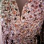 MAC DUGGAL 42328P $3750 BRONZE CRYSTAL GOWN FREE SHIPPING