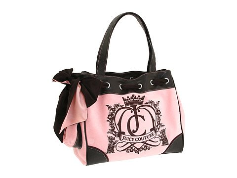 JUICY COUTURE Daydreamer $179 Velour Handbag FREE SHIPPING