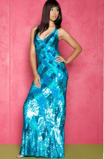 CASSANDRA STONE 3246A $325 GOWN SILVER or PEACOCK FREE SHIPPING