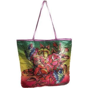 Ed Hardy Goldie Sequined Tote $59 FREE SHIPPING