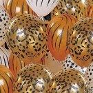 10 ANIMAL PRINT Balloons PARTY Jungle Tiger SAFARI Lion