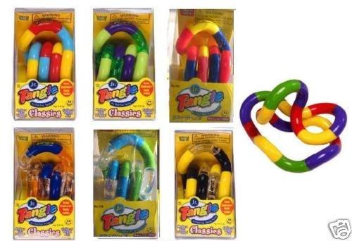 6 TANGLE JR Fidget Sensory Toy ADHD Favor Autism PUZZLE
