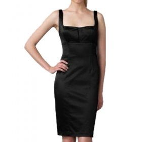 Special Chest Design Camisole Neckline Dress / Women's Dresses (FF-1802BD002-0811)