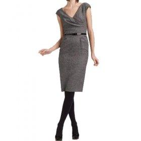 Short Sleeves Overlapped Women's Dresses(1802BA3032-0676)