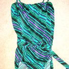 Rose Marie Reid Rich Colored Print One-Piece Swimsuit-12