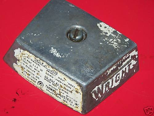 WRIGHT 40 CHAINSAW AIR FILTER COVER
