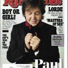 Rolling Stone Magazine November 7 2013 Paul McCartney Cover