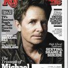 Rolling Stone Magazine (September 26, 2013) Michael J.Fox Cover