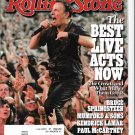 Rolling Stone August 15, 2013 Bruce Springsteen (The Best Live Acts Now)