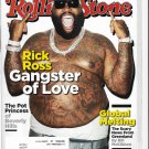 Rolling Stone Magazine Rick Ross -- #1164 - August 30, 2012