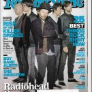 Rolling Stone April 26, 2012  ISSUE 1155 Radiohead Reconnected JACK WHITE