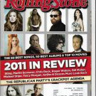 Rolling Stone December 22, 2011 - January 5, 2012 2011 in Review #1146