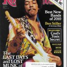 Rolling Stone Magazine Issue 1101 April 1 2010 Jimi Hendrix
