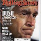 ROLLING STONE MAGAZINE #1070 GEORGE W BUSH JAN 22 2009