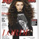 Rolling Stone Magazine,#1201 January 30, 2014 LORDE