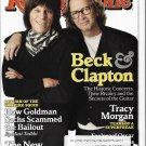 Rolling Stone Magazine #1099 March 4, 2010 Jeff Beck & Eric Clapton