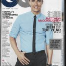 GQ Magazine DECEMBER 2013, MATTHEW McCONAUGHEY new