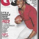 GQ Magazine September 2013 RG3 Robert Griffin new