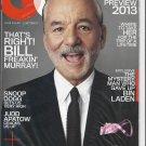 GQ Magazine January 2013 - Bill Murray new