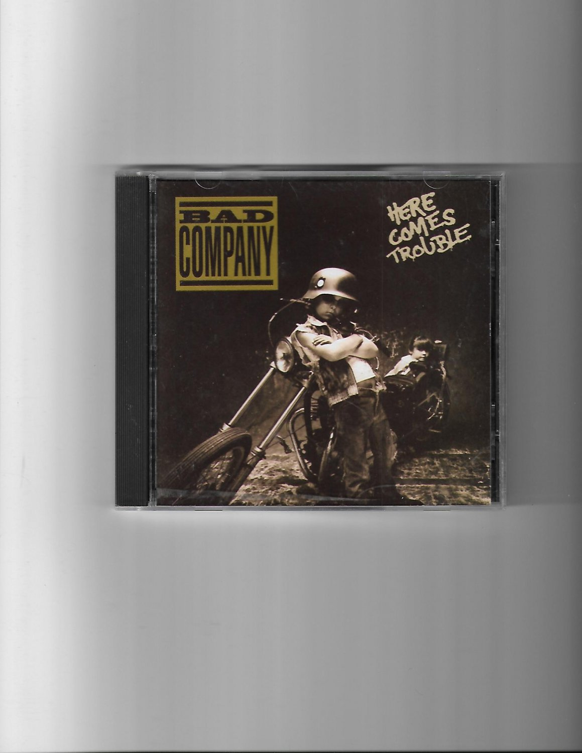 BAD COMPANY HERE COMES TROUBLE CD