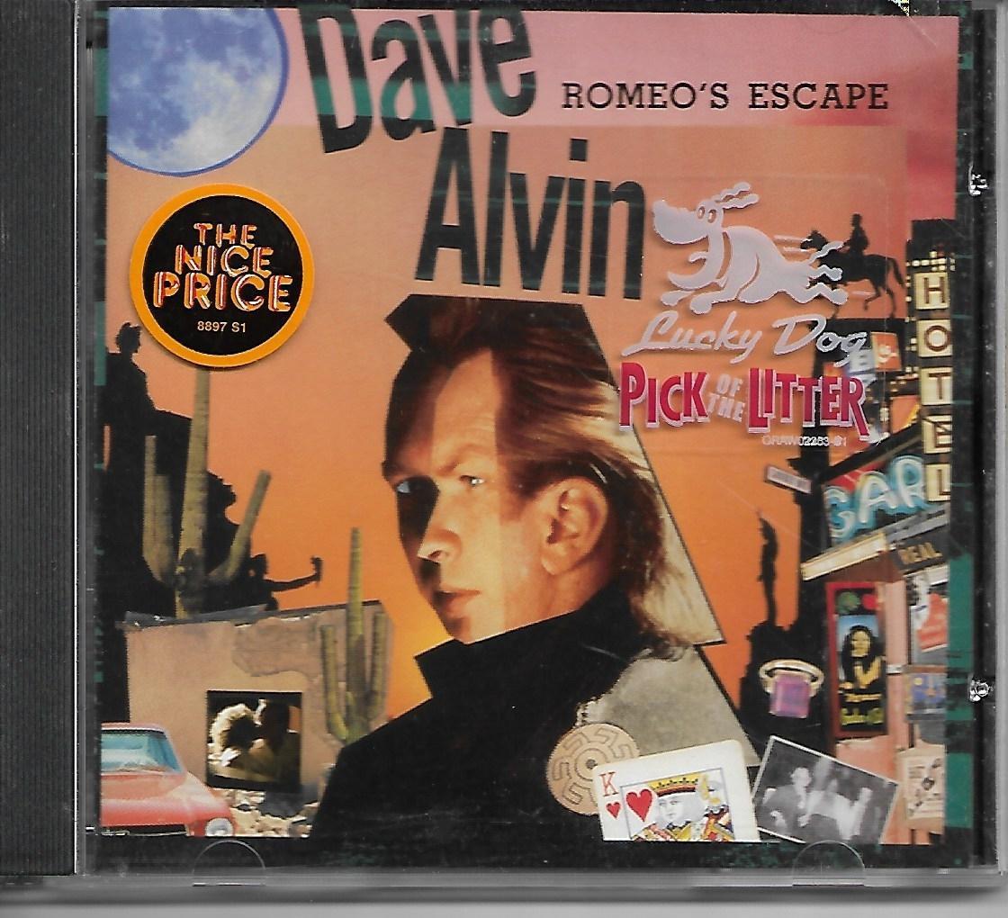 DAVE ALVIN Romeo's Escape cd