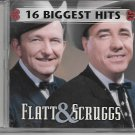 Flatt & Scruggs - 16 Biggest Hits [CD]