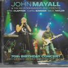 JOHN MAYALL 70th BIRTHDAY CONCERT (with ERIC CLAPTON,MICK TAYLOR) 2CD SET