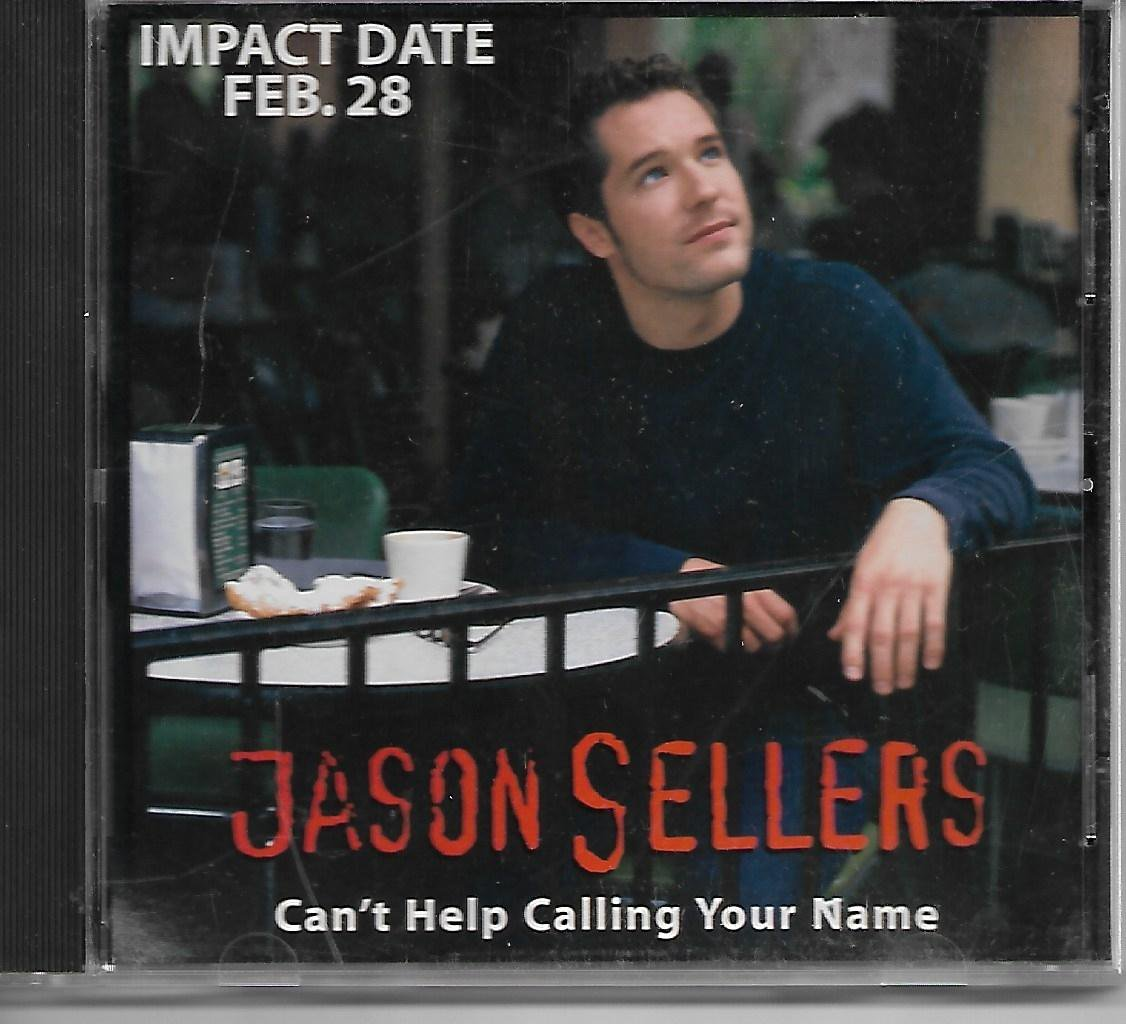 JASON SELLERS Can�t Help Calling PROMO CD Single