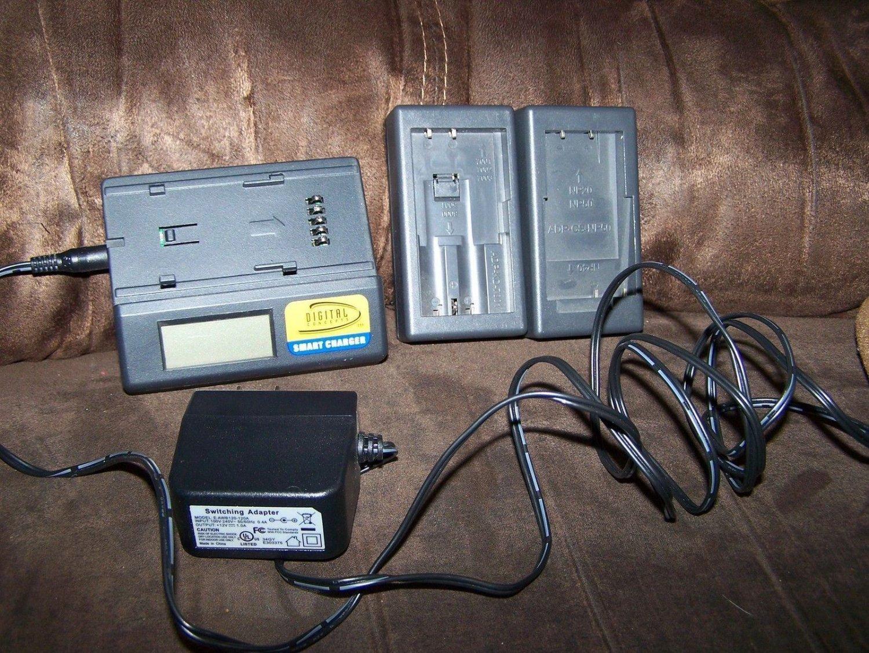 Digital Concepts CH-4550 Charger  Kodak/Casio Digital Batteries