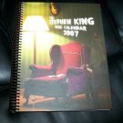 Stephen King 2007 Desk Calendar Hard Cover Spiral Bound (Not Written In)