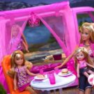 Barbie Glamour Camper with Skipper, Barbie, and Kelly Dolls EXTREMELY RARE