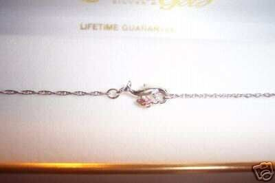 """New Black Hills ~1 GOLD LEAFS ~DOLPHIN ANKLET 9-1/4   """""""