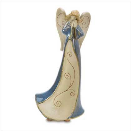 Homespun Porcelain Angel Fig