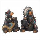 Chief Bear Family Figurines