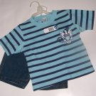Blue Jean Boy Short Set size 2T