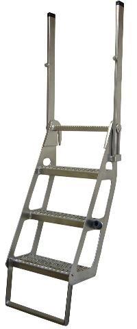 Semi Flatbed Truck Trucker Ladder Retractable Pro-Step ProStep