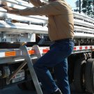ECO Semi Flatbed Truck Trucker Ladder Pro-Step ProStep