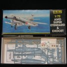 Heller 1:72 AMD Super Étendard and Exocet