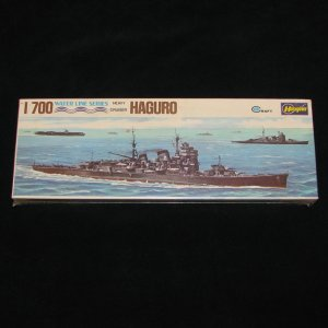 Japanese Cruiser Haguro Hasegawa 1:700