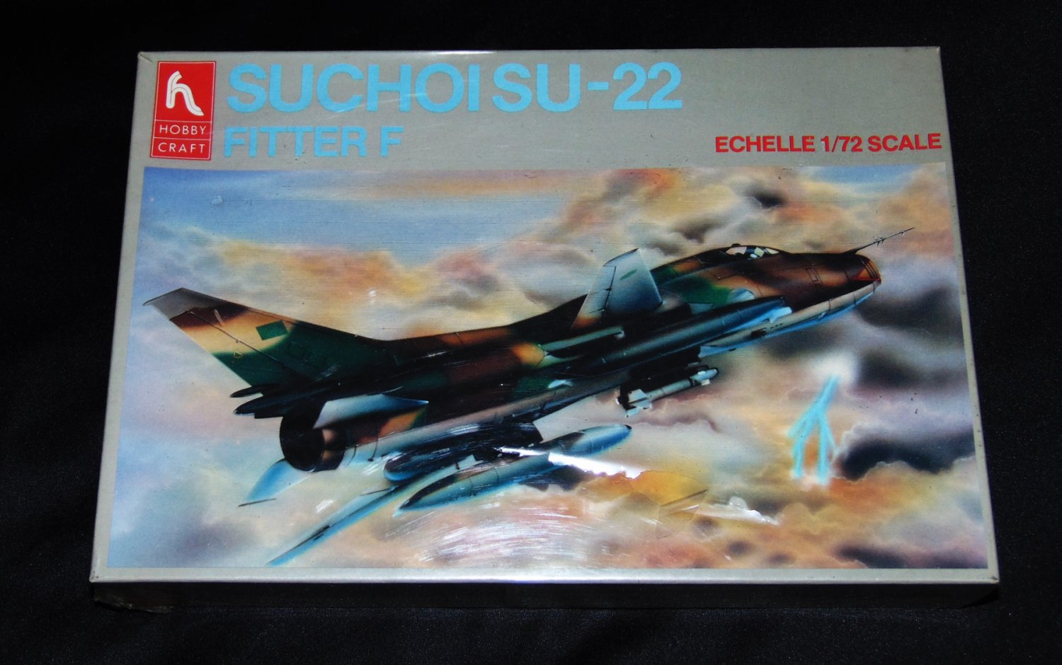 Hobby Craft 1:72 Suchoi SU-22 Fitter F Plastic Model Kit HC1387