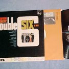 DOUBLE SIX OF PARIS-SWINGIN' SINGIN'!-NM/VG+ Philips LP